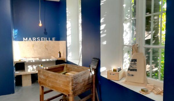 La boutique du Musée du Savon de Marseille