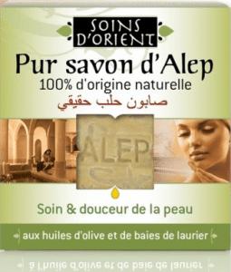 Soins d'Orient Pur Savon d'Alep 100% d'origine naturelle - Savonnerie du Midi